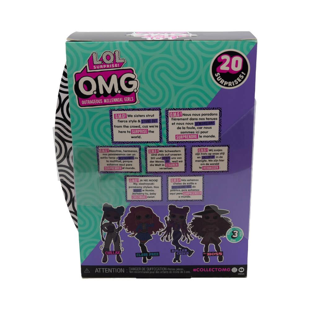 Кукла LOL Surprise OMG Roller Chick Fashion Doll с 20 сюрпризами (3 серия) - 3