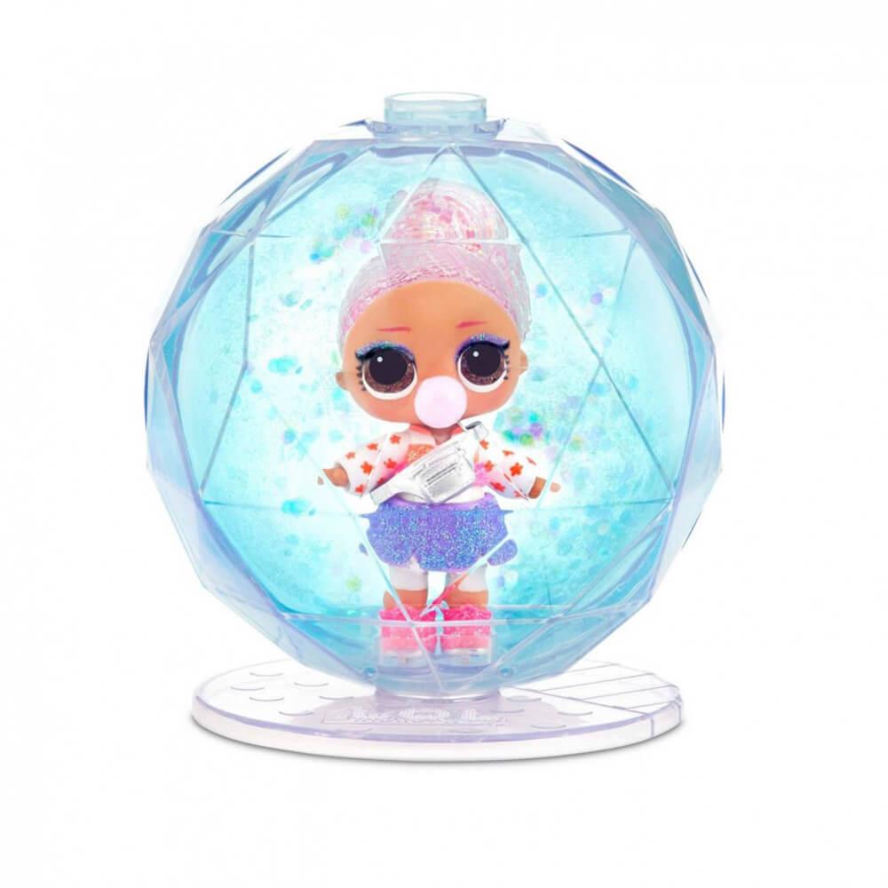 Кукла LOL Surprise GLITTER GLOBE Winter Disco (Блестящая кукла Зимнее диско) - 4