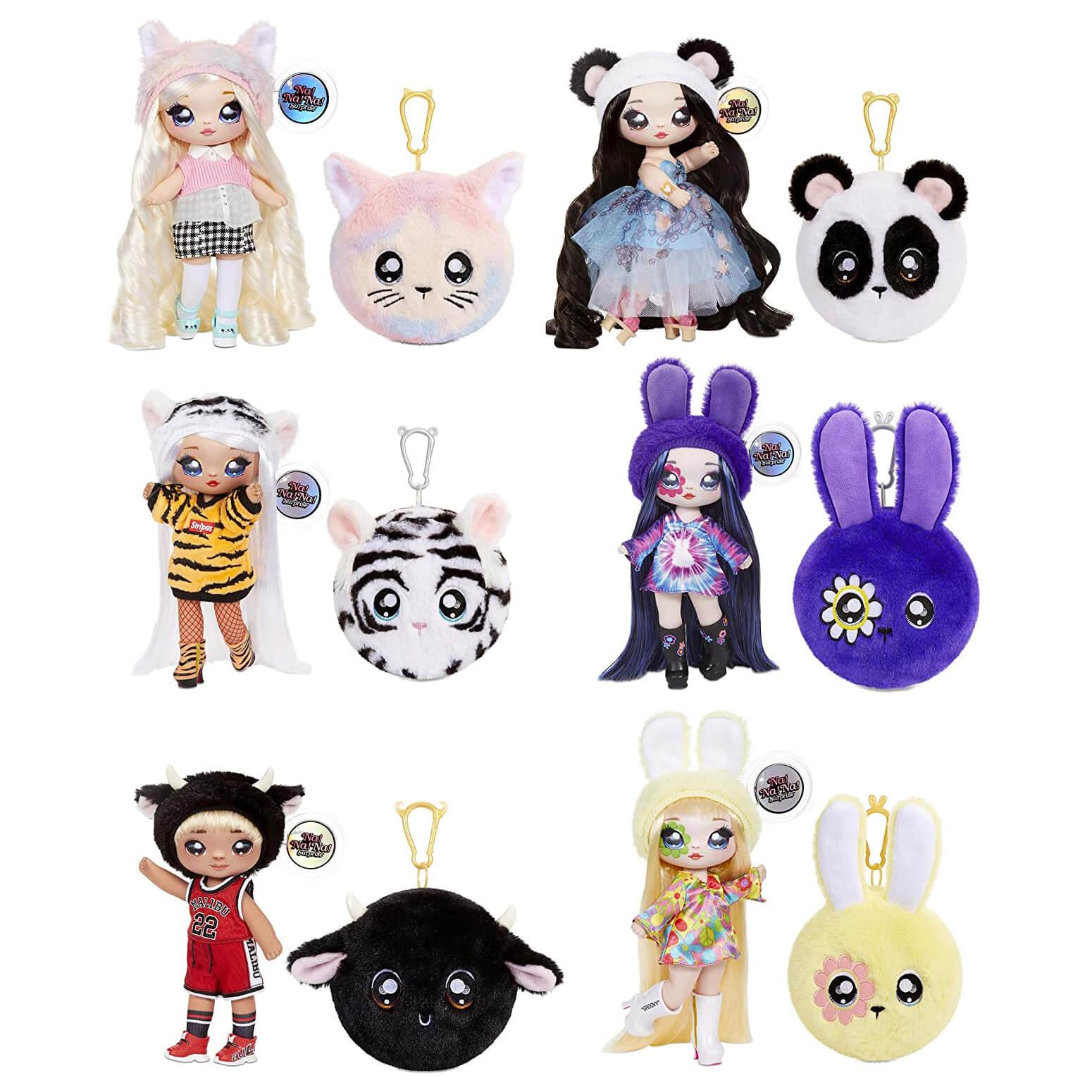 Кукла LOL Surprise Na! Na! Na! Surprise PLUSH COLLECTIBLE 4 Серия с мягкими куклами внутри - 2